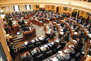 The 2017 Virginia General Assembly chambers