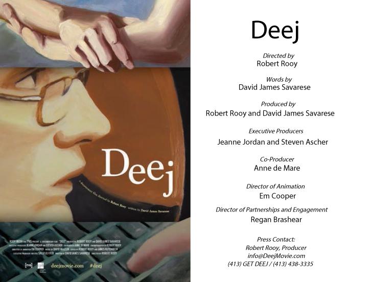 Deej movie poster