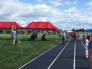 EFFORT Day held at the Christiansburg High School track.