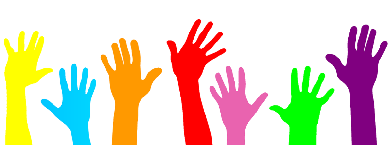 Raise your hand to volunteer