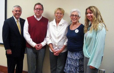 Arc of the New River Valley board members pose for a group photo