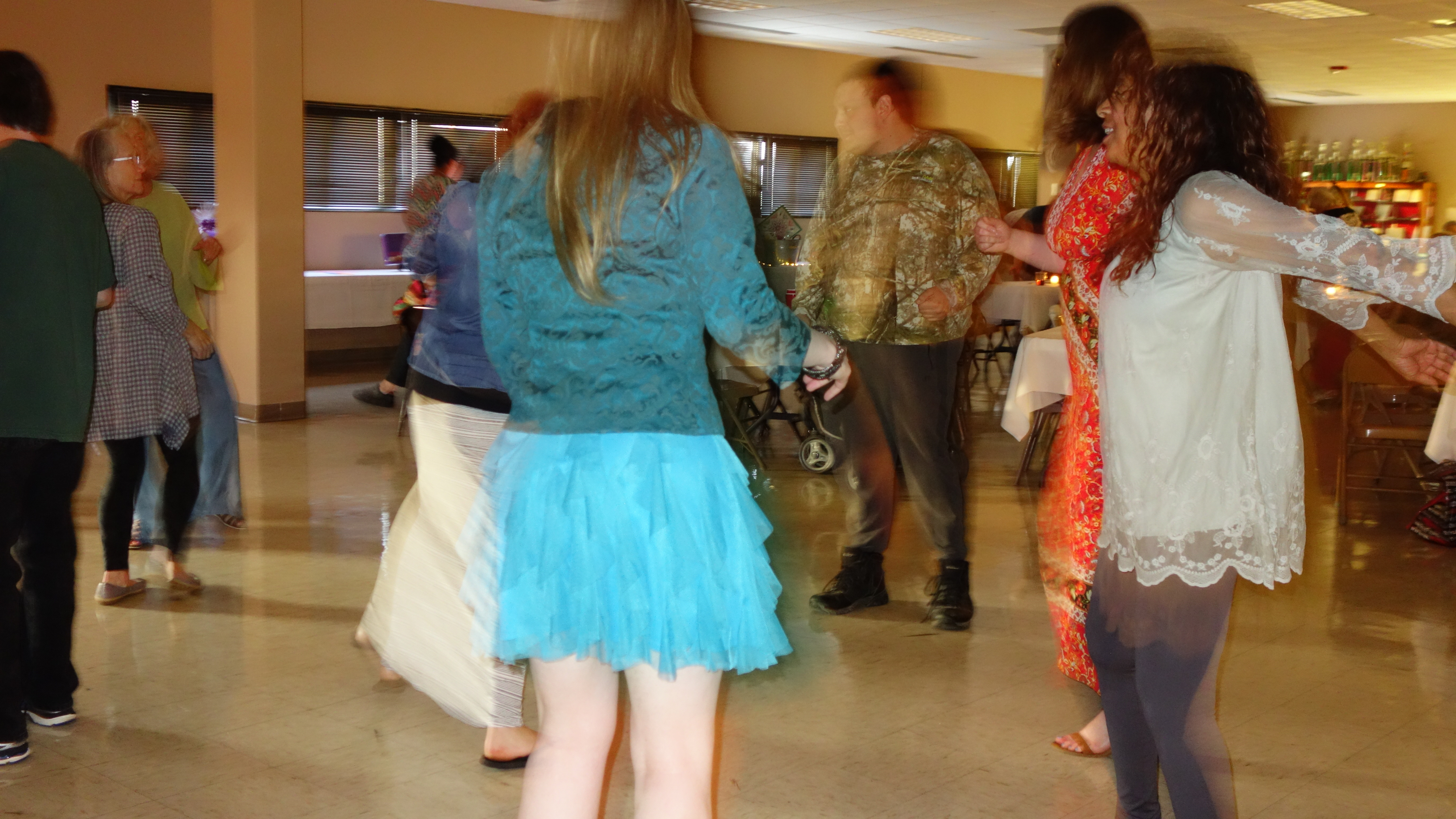 Dancing at the 2018 Annual Event