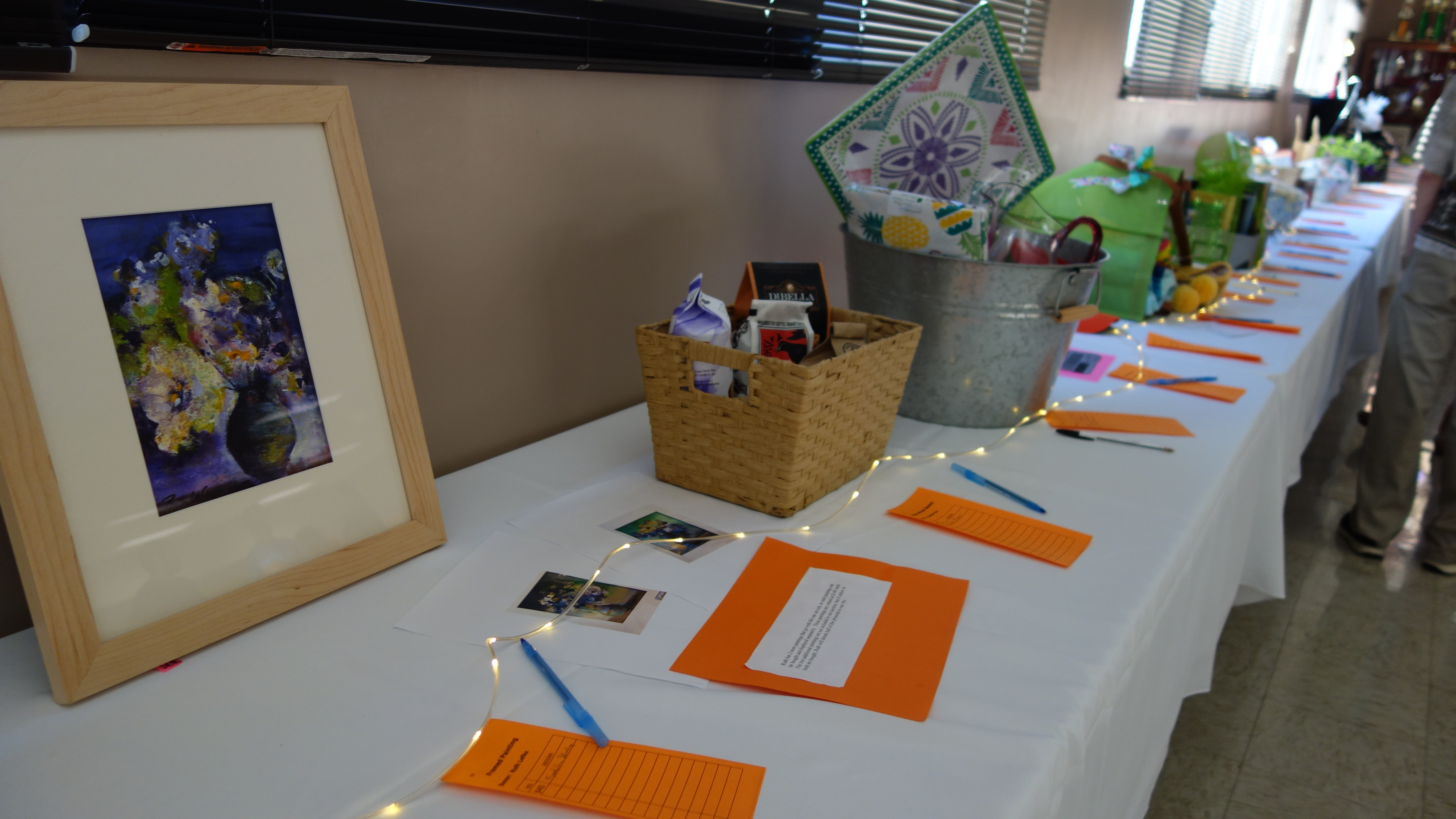 The charity auction at the 2018 Annual Event