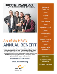 Arc of the NRV Annual Event, April 2019